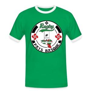 Sport Basque - T-shirt contrasté Homme