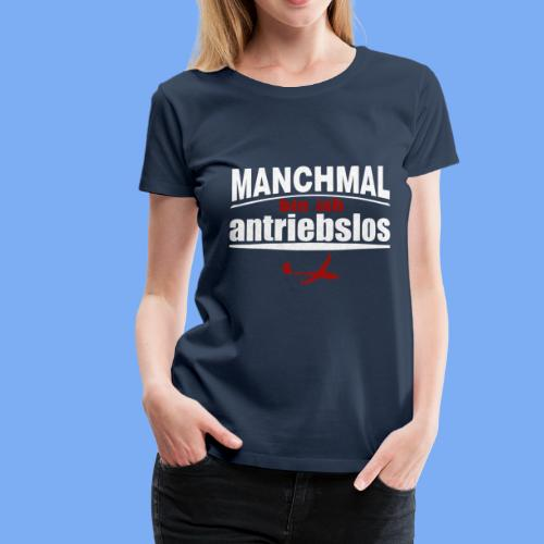 antriebloser Segelflieger - Women's Premium T-Shirt