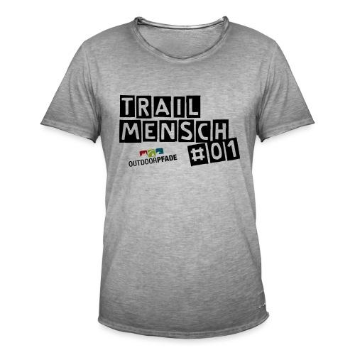 TrailMensch#01m - Männer Vintage T-Shirt