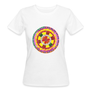 Creativity Heart organic cotton t-shirt - T-shirt ecologica da donna