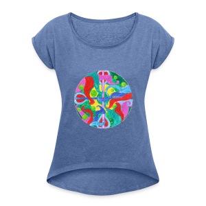 Creativity Balance t-shirt - Maglietta da donna con risvolti