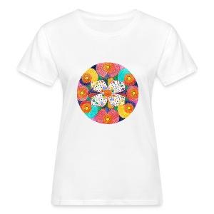 AbunDance organic cotton t-shirt - T-shirt ecologica da donna
