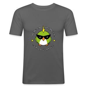 T-shirt moulant Homme Oiseau Cool, Vacances, J'ai la Classe! - Tee shirt près du corps Homme