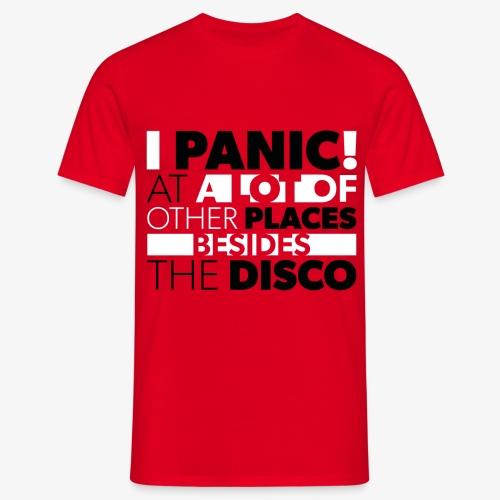Panic! - Men's T-Shirt