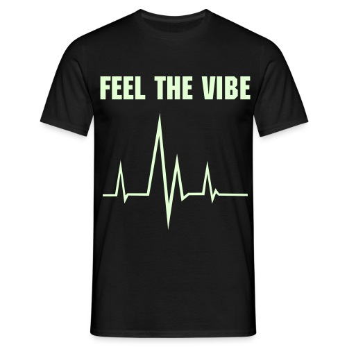 Feel the VIBE - Mannen T-shirt