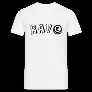 T-Shirts ~ Men's T-Shirt ~ Rave & PLUR on the back