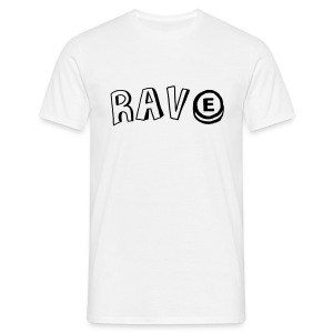 Rave & PLUR Front/Back - Men's T-Shirt