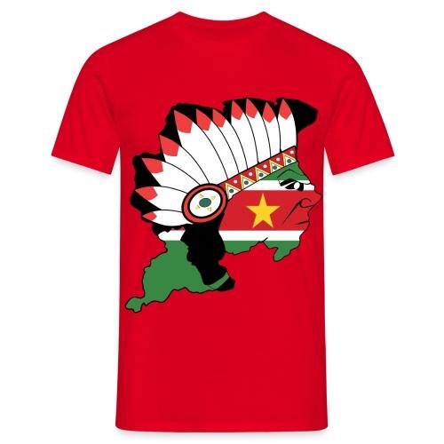 Round neck t-shirt - Mannen T-shirt