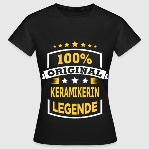 KERAMIKERIN T-Shirts - Frauen T-Shirt