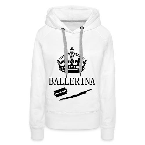 Ballerina Hoodie - Frauen Premium Hoodie