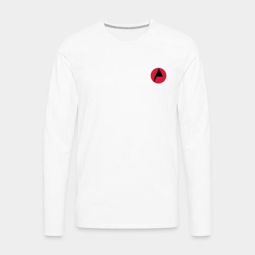 Original A Men Long Sleeve White - Men's Premium Longsleeve Shirt