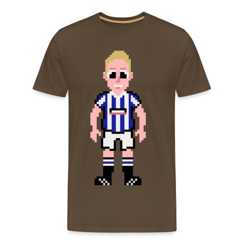 Nathan Clarke Pixel Art T-shirt - Men's Premium T-Shirt