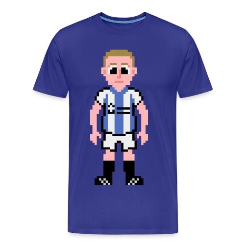 Peter Clarke Pixel Art T-shirt - Men's Premium T-Shirt