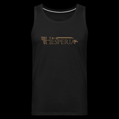HESPERIA-Logo 2016- man tank top - Men's Premium Tank Top