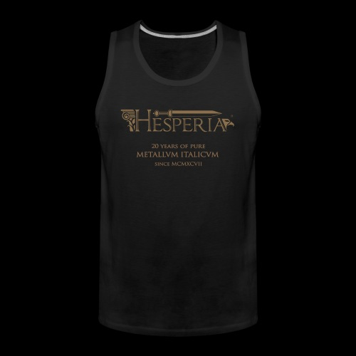 HESPERIA-20th Anniversary (type 1)-man tank top - Men's Premium Tank Top