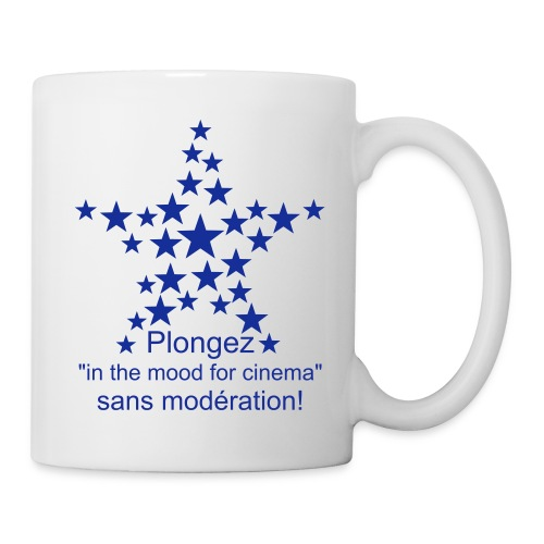 Plongez in the mood for cinema - Mug blanc