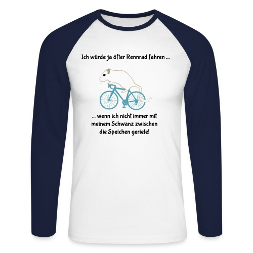 Rennmaus auf Rennrad - Radfahrer Biker Radler