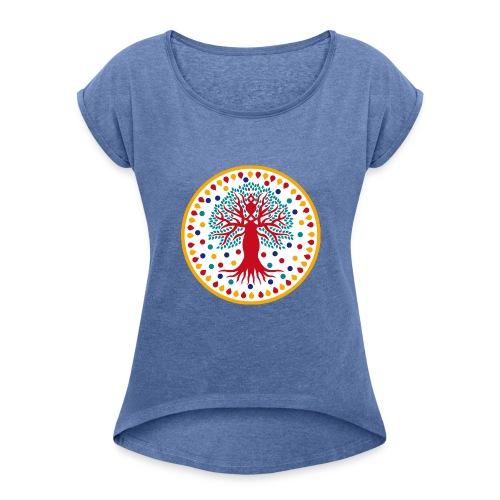 Albero dei Talenti t-shirt - Maglietta da donna con risvolti