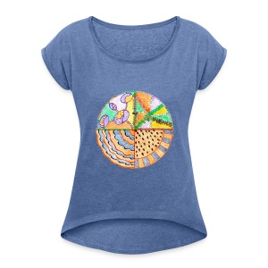 Purifying Creativity t-shirt - Maglietta da donna con risvolti