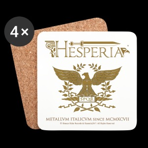 HESPERIA - Sottobicchiere-Roman Eagle (designed by Hesperus) - Coasters (set of 4)