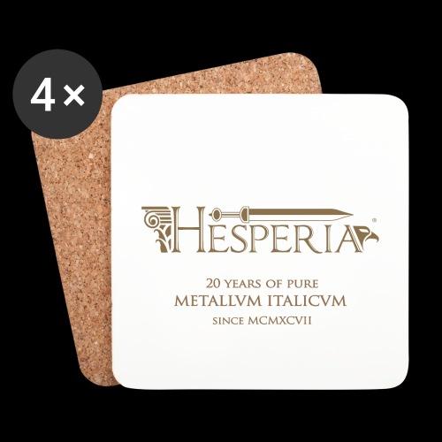 HESPERIA - Sottobicchiere-new Logo - Coasters (set of 4)