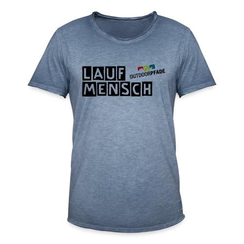 LaufMensch#01m - Männer Vintage T-Shirt