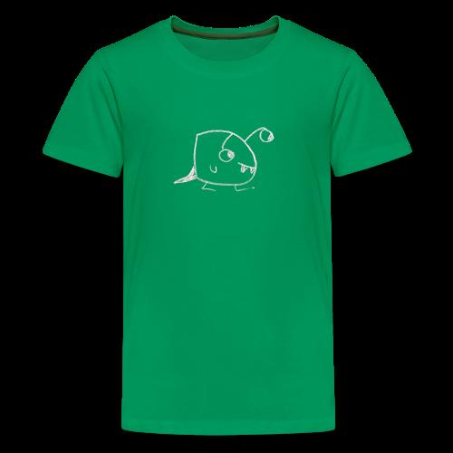 A teenage, friendly looking monster - Teenager Premium T-shirt