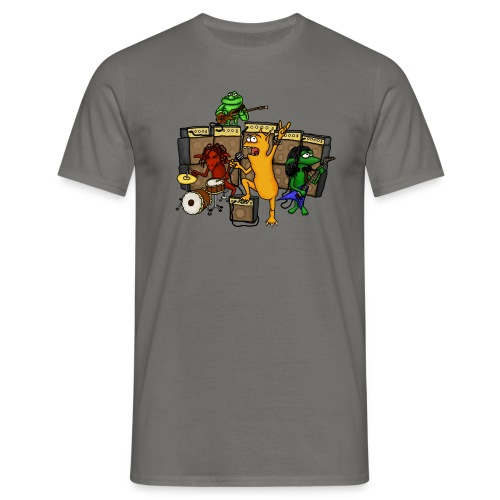 Kobold Metal Band Men T-Shirt graphite - Men's T-Shirt
