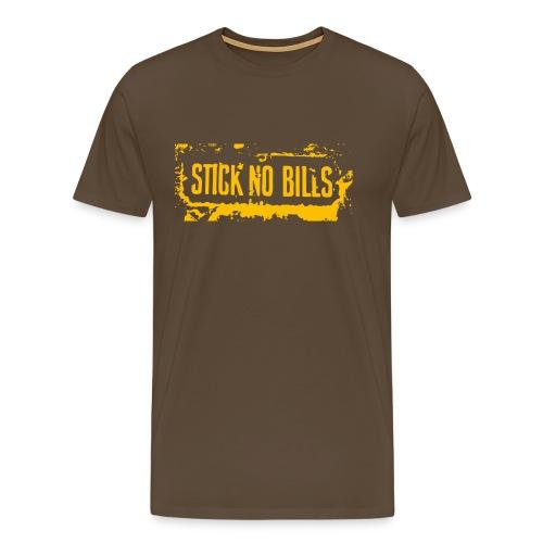 Stick No Bills - Männer Premium T-Shirt