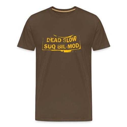Dead Slow - Männer Premium T-Shirt