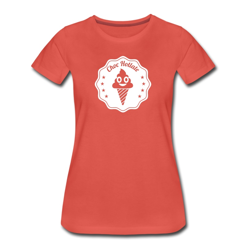 Chock Hotlate - Frauen Premium T-Shirt