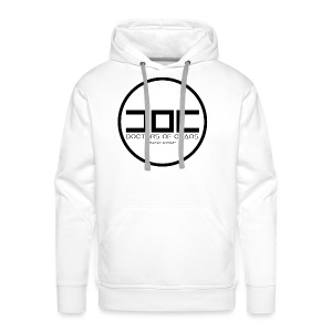 DOCTORS OF CHAOS MUSIC GROUP SWEATSHIRT - BLACK LOGO EDITION - Felpa con cappuccio premium da uomo