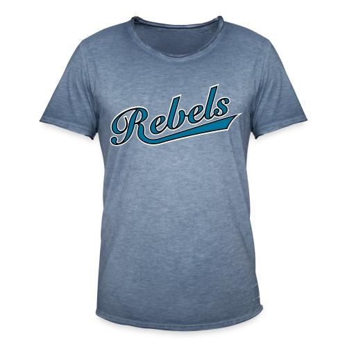 Vintage - Rebels - Männer Vintage T-Shirt