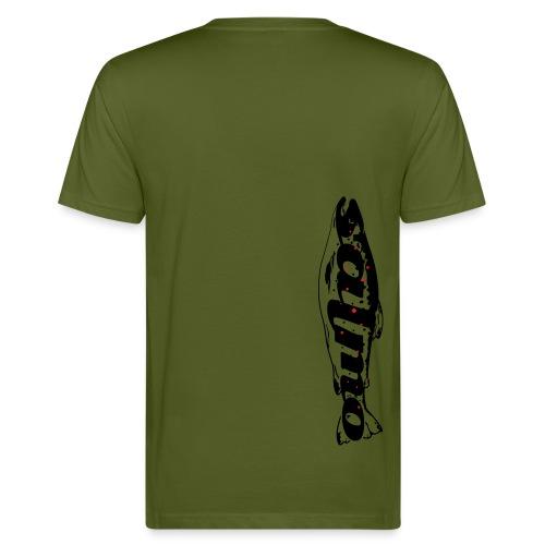 Angler-Shirt Salmo für Forellenangler - Männer Bio-T-Shirt