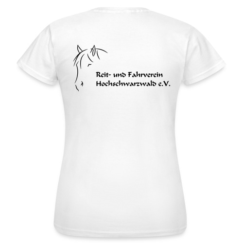 RFV Hochschwarzwald Damen T-Shirt (Druck schwarz) - Frauen T-Shirt