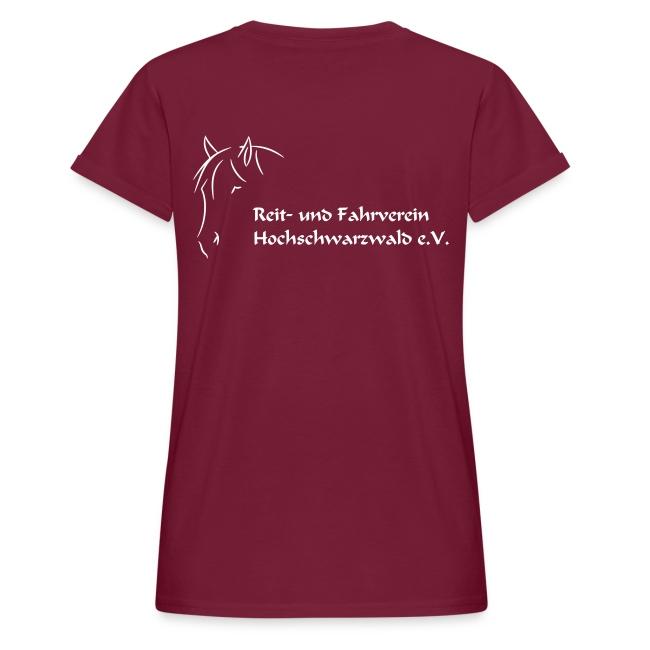RFV Hochschwarzwald Damen Oversize T-Shirt (Druck weiß)