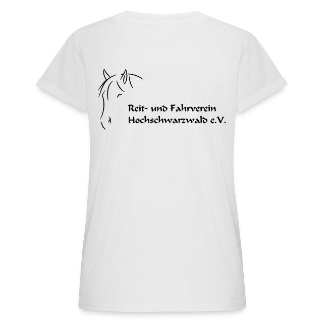 RFV Hochschwarzwald Damen Oversize T-Shirt (Druck schwarz)