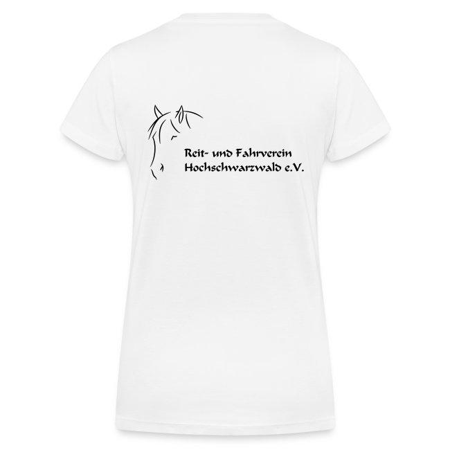 RFV Hochschwarzwald Damen V - T-Shirt (Druck schwarz)