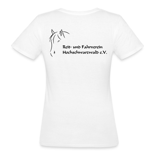 RFV Hochschwarzwald BIO Damen T-Shirt (Druck schwarz) - Frauen Bio-T-Shirt