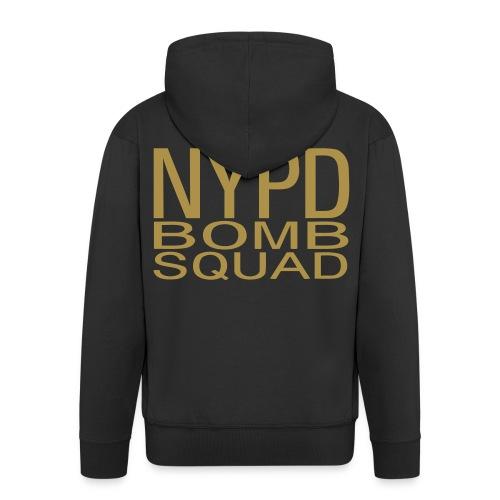 N Y P D BOMB SQUAD DOS - Veste à capuche Premium Homme