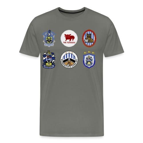 HTFC Badge Collection T-shirt - Men's Premium T-Shirt