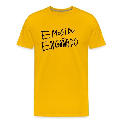 Emosido Engañado | Amarillo - Camiseta premium hombre