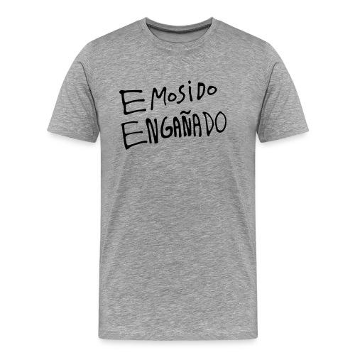 Emosido Engañado | Gris - Camiseta premium hombre