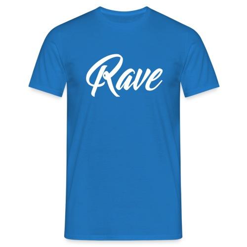 Rave T-shirt | Men | Blue - Männer T-Shirt