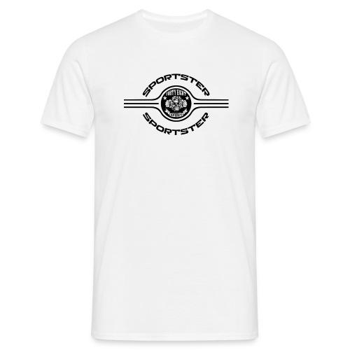 48S Sportster Black - T-shirt Homme