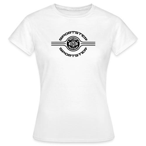 48S Sportster Black - T-shirt Femme