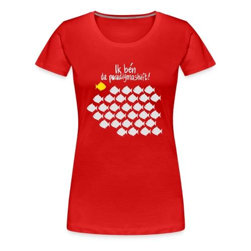 Paradigmashift - Vrouwen Premium T-shirt