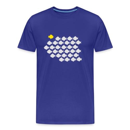 Verander-vis - Mannen Premium T-shirt