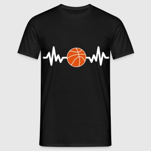 Basketball is life, basket,basket-ball t-shirt  - Männer T-Shirt