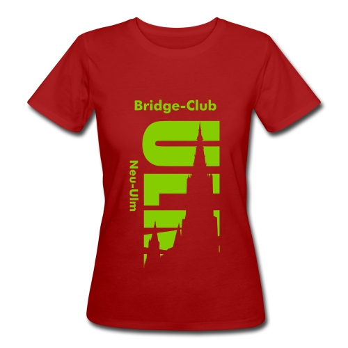 Bridgeclub in Bio - Frauen Bio-T-Shirt